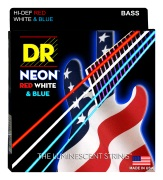 USA Flag Color Neon Coated