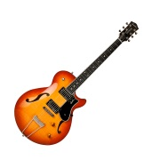 GODIN Montreal Premiere Supreme Lightburst Flame HG with DLX TRIC