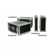 "PROEL CR202BLKM Flightcase 2 HE - 19"" Rack case - 450mm användbart..."