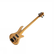 Schecter STILETTO-5 Session FL Aged Natural Satin