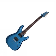 Schecter C-6 Deluxe Satin Metallic Light Blue