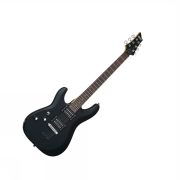 Schecter C-6 Deluxe Satin Black LEFT