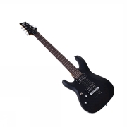 Schecter C-7 Deluxe Satin Black LEFT