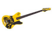 Simon Gallup Ultra Spitfire Bass Gloss Yellow