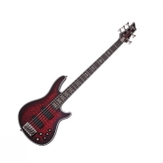 Schecter HELLRAISER Extreme-5 Crimson Red Burst Satin
