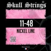 Skull Strings Nickel 11-48