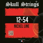 Skull Strings Nickel 12-54