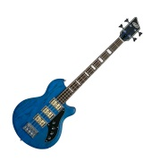Huntington 2043PTB Triple Pickup, Transparent Blue, Piezo