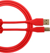 UDG Gear Ultimate USB 2.0 A-B Red Straight 1m