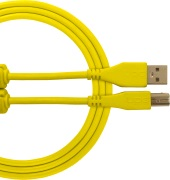 UDG Gear Ultimate USB 2.0 A-B Yellow Straight 1m