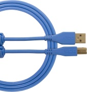 UDG Gear Ultimate USB 2.0 A-B Blue Straight 3m