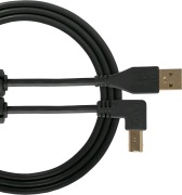 UDG Gear Ultimate USB 2.0 A-B Black Angled 1m
