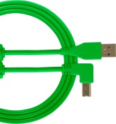 UDG Gear Ultimate USB 2.0 A-B Green Angled 1m