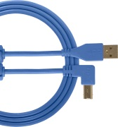 UDG Gear Ultimate USB 2.0 A-B Blue Angled 1m