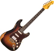 V6 HSS Icon - 3-Tone Sunburst